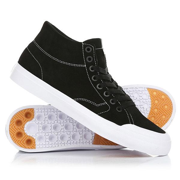 Кеды кроссовки высокие DC Evan Hi Zero Black/White кеды кроссовки высокие женские dc rebound hi chambray