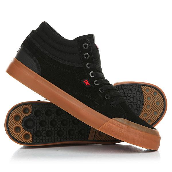 Кеды кроссовки высокие DC Evan Smith Hi S Black/Gum dc shoes шорты классические dc evan short wkst pirate black