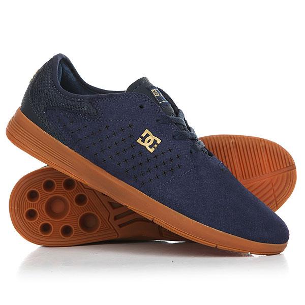 Кеды кроссовки низкие DC New Jack Navy/Gum кеды кроссовки высокие женские dc rebound high tx navy gum