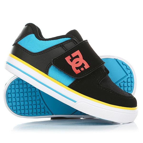 Кеды кроссовки низкие детские DC Pure V Ii Black/Multi кеды кроссовки низкие детские dc pure v ii black multi