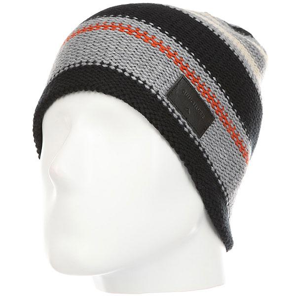 Шапка Quiksilver Cushyjacquardst Black шапка носок детская quiksilver preference black