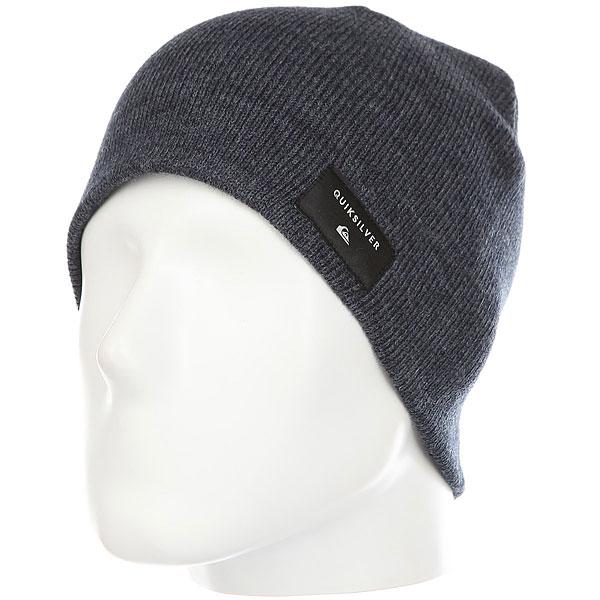 Шапка Quiksilver Cushy Hats Navy Blazer<br><br>Цвет: Темно-синий<br>Тип: Шапка<br>Возраст: Взрослый<br>Пол: Мужской
