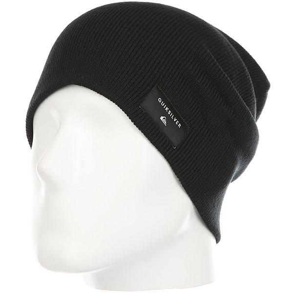 Шапка Quiksilver Cushyslouch Black шапка носок детская quiksilver preference black