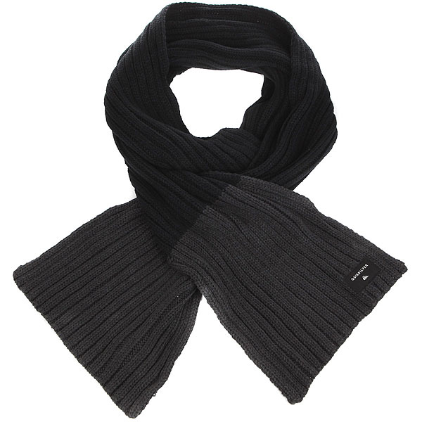 Шарф Quiksilver Dualone Black / Tarmac толстовка quiksilver fleece tarmac