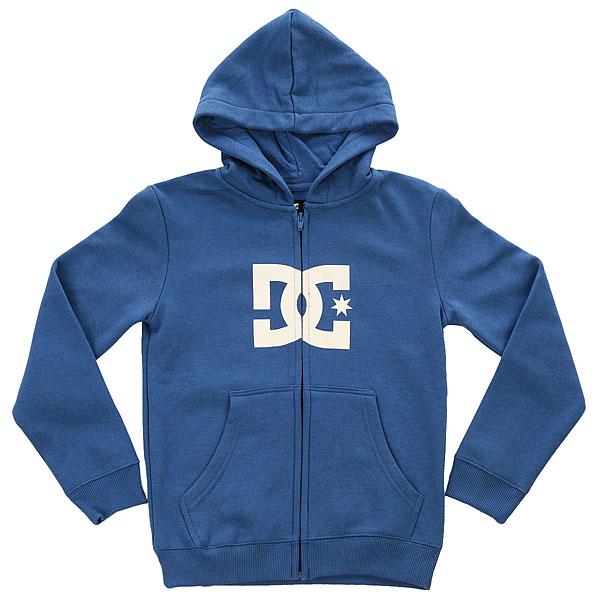 Толстовка кенгуру детская DC Star Washed Blue<br><br>Цвет: синий<br>Тип: Толстовка кенгуру<br>Возраст: Детский