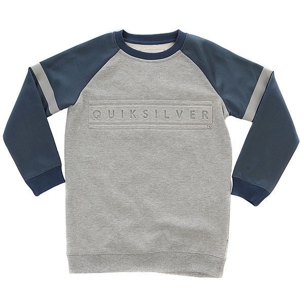 Свитшот детский Quiksilver Mebokcrewyouth Light Grey Heather