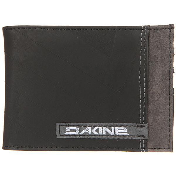 Кошелек Dakine Conrad Wallet Deep Black<br><br>Цвет: черный,серый<br>Тип: Кошелек<br>Возраст: Взрослый<br>Пол: Мужской