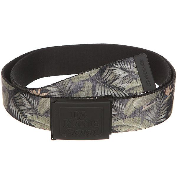 Ремень Dakine Hubbard Belt Palm<br><br>Цвет: зеленый,черный<br>Тип: Ремень<br>Возраст: Взрослый<br>Пол: Мужской
