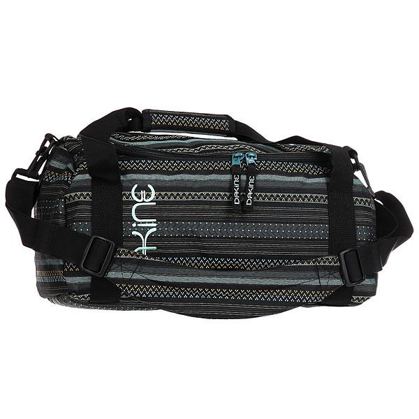 Сумка через плечо женская Dakine Eq Bag MojaveСумка Dakine EQ Bag - это мужская сумка для путешествий, которая идеально подойдет и для долгой и для непродолжительной поездки. За счет U-образного входа обеспечен легкий и быстрый доступ к внутреннему пространству сумки.Характеристики:Основное отделение. Боковой карман на молнии. Эргономичные ручки. Съемный плечевой ремень. Сумка компактно складывается в боковой карман до размеров небольшого клатча.<br><br>Цвет: мультиколор<br>Тип: Сумка через плечо<br>Возраст: Взрослый<br>Пол: Женский
