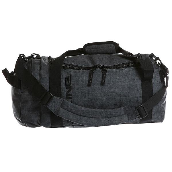 Сумка спортивная женская Dakine CarbonНебольшая удобная сумка для путешествий с просторным отделением на U-образной застежке.Технические характеристики: Материал - полиэстер 600D.Вместительный главный отсек с U-образным двухсторонним доступом.Боковой карман на застежке-молнии.Наплечный съемный ремень с регулировкой.<br><br>Цвет: серый<br>Тип: Сумка спортивная<br>Возраст: Взрослый<br>Пол: Женский