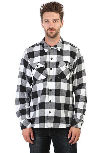 Рубашка в клетку Dickies Sacramento Black<br><br>Цвет: белый,черный<br>Тип: Рубашка в клетку<br>Возраст: Взрослый<br>Пол: Мужской