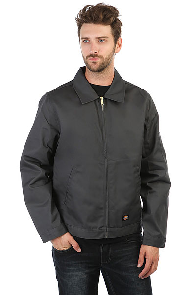 Ветровка Dickies Unlined Eisenhower Jacket Charcoal Grey ветровка dickies softshell jacket navy