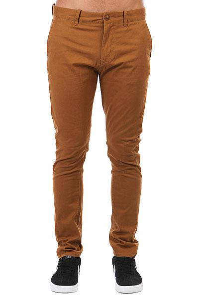 Штаны узкие Quiksilver Krandy Rubber<br><br>Цвет: оранжевый<br>Тип: Штаны узкие<br>Возраст: Взрослый<br>Пол: Мужской