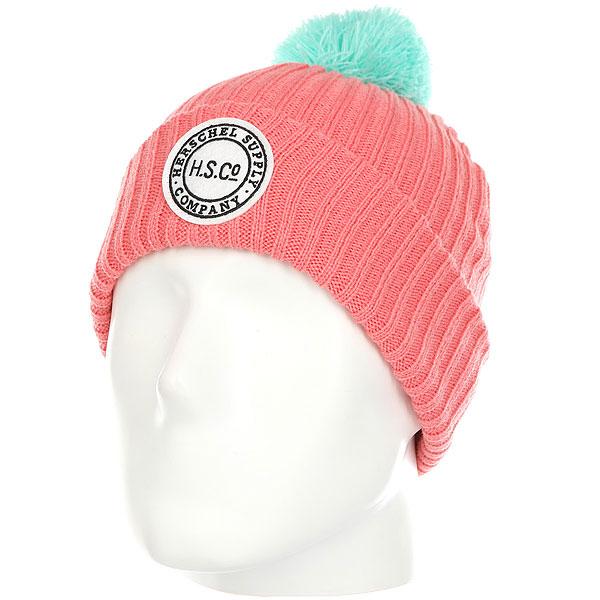 Шапка детская Herschel Alpine Youth Strawberry/Lg<br><br>Цвет: розовый,голубой<br>Тип: Шапка<br>Возраст: Детский