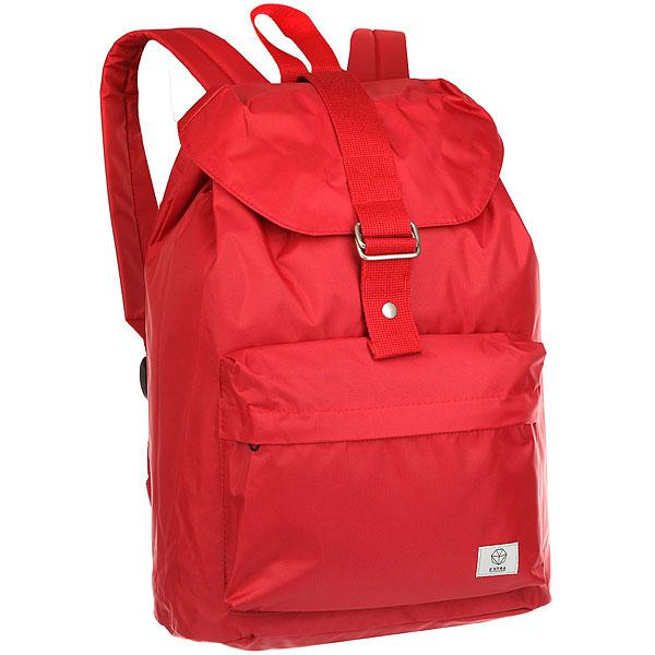 Рюкзак Extra B305/1 RedСумка-рюкзак EXTRA B-305 – это стильная новинка, которая станет вашим надежным другом в любом путешествии. Характеристики:Утяжка горловины.Защитный клапан с застежкой – кнопкой. Лицевой карман на молнии.Ручка для переноски. Смягченные регулируемые лямки.<br><br>Цвет: красный<br>Тип: Рюкзак городской<br>Возраст: Взрослый