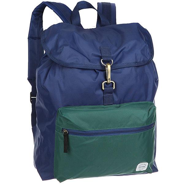 Рюкзак туристический Extra B320 Blue/GrenРюкзак туристический Extra B320 станет незаменимым товарищем в путешествии.Характеристики:Утяжка горловины. Защитный клапан с застежкой – карабином. Лицевой карман на молнии. Ручка для переноски.Смягченные регулируемые лямки.<br><br>Цвет: синий,зеленый<br>Тип: Рюкзак туристический<br>Возраст: Взрослый