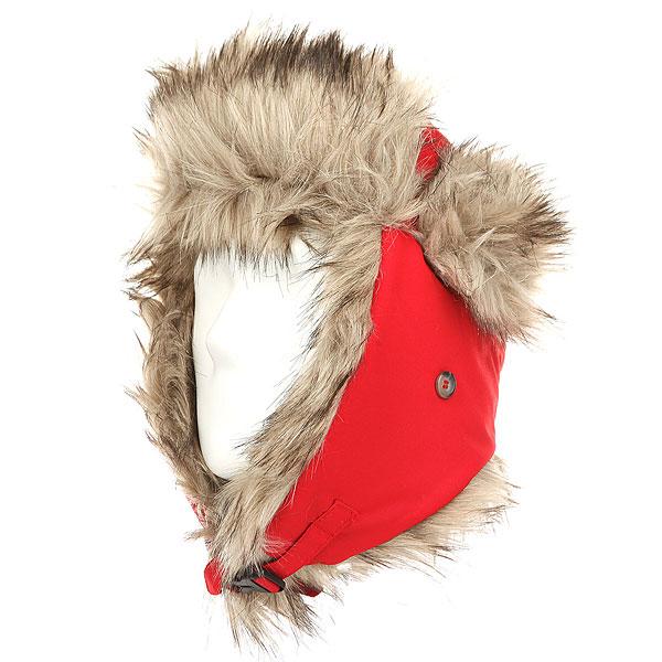Шапка ушанка Oregon Camp Malte Red<br><br>Цвет: красный<br>Тип: Шапка ушанка<br>Возраст: Взрослый<br>Пол: Мужской