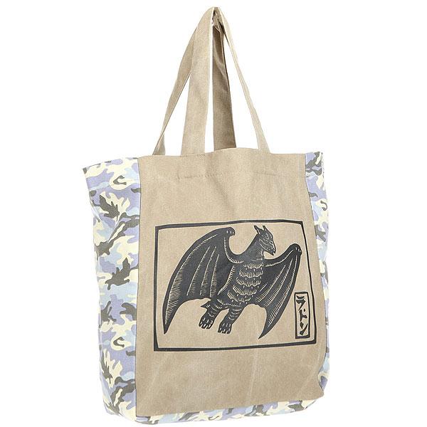 Сумка женская Extra B299 BeigeЛегкая и вместительная сумка для покупок или походов на пляж.Характеристики:Без застежки. Вместительное внутреннее отделение. Две широкие лямки для переноски в руках/на плече. Декоративный принт.<br><br>Цвет: мультиколор<br>Тип: Сумка<br>Возраст: Взрослый<br>Пол: Женский