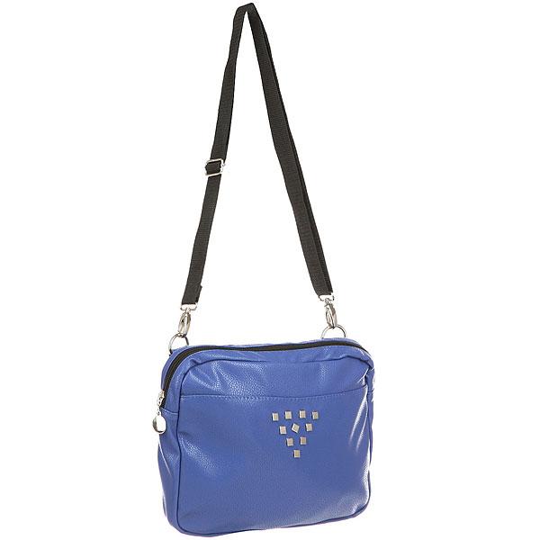 Клатч женский Extra B311 BlueСтильная сумка-клатч. В компактную модель EXTRA легко поместятся ключи, телефон и прочие важные мелочи. Характеристики:Внутри одно большое отделение и карман-органайзер на молнии. Регулируемая съемная ручка для ношения через плечо.<br><br>Цвет: синий<br>Тип: Клатч<br>Возраст: Взрослый<br>Пол: Женский