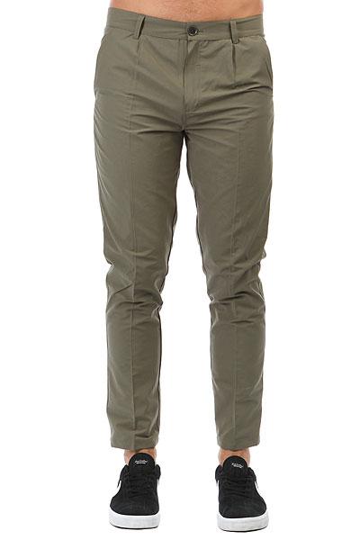 Штаны прямые Anteater Chino Khaki<br><br>Цвет: зеленый<br>Тип: Штаны прямые<br>Возраст: Взрослый<br>Пол: Мужской