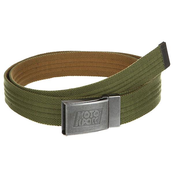 Ремень Запорожец Webbing Belt Olive/Sand<br><br>Цвет: зеленый<br>Тип: Ремень<br>Возраст: Взрослый<br>Пол: Мужской