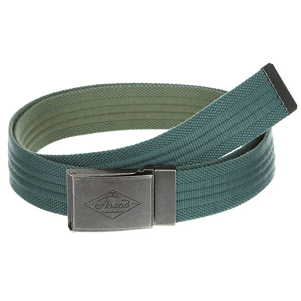 Ремень Запорожец Webbing Belt Blue/Green<br><br>Цвет: зеленый<br>Тип: Ремень<br>Возраст: Взрослый<br>Пол: Мужской
