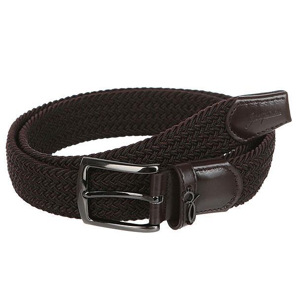 Ремень Запорожец Classic Elastic Belt Dark Brown