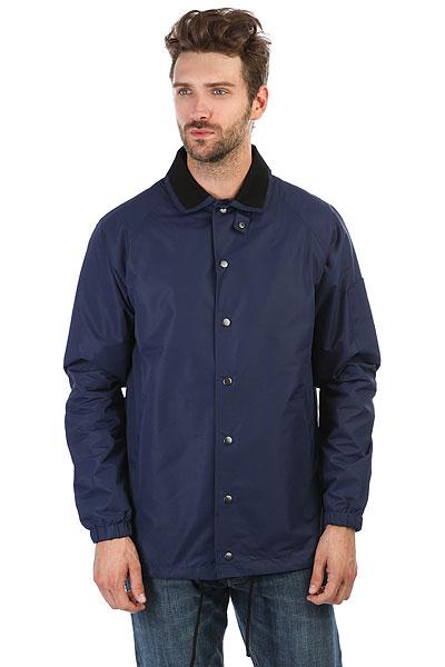 Куртка НИИ Коуч Темно СинийУдобная куртка НИИ Коуч в рубашечном стиле.Характеристики:Влагонепроницаемое покрытие ткани.Классический рубашечный воротник. Застежка-кнопки. Манжеты на резинках.<br><br>Цвет: синий<br>Тип: Куртка<br>Возраст: Взрослый<br>Пол: Мужской