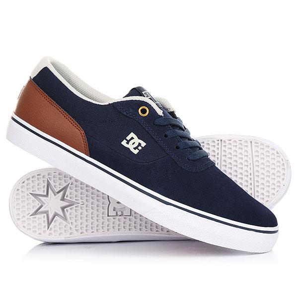 Кеды кроссовки низкие DC Switch Navy/Dark Chocolate raf simons x adidas низкие кеды и кроссовки