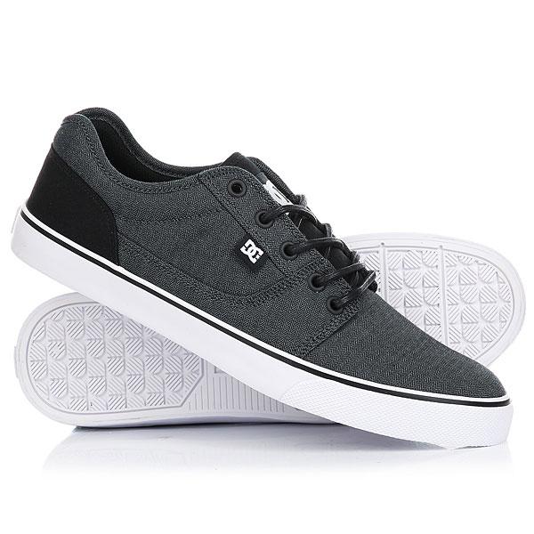 цены на Кеды кроссовки низкие DC Tonik Black/Dark Grey/White в интернет-магазинах