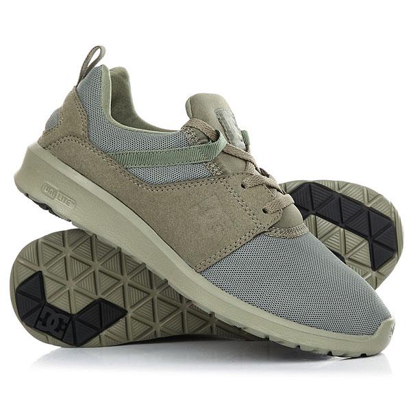 Кроссовки женские DC Heathrow Olive dc shoes кеды dc heathrow se 11