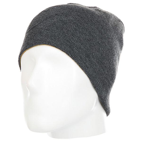 Шапка Quiksilver Beanie Hats Black Heather<br><br>Цвет: серый<br>Тип: Шапка<br>Возраст: Взрослый<br>Пол: Мужской