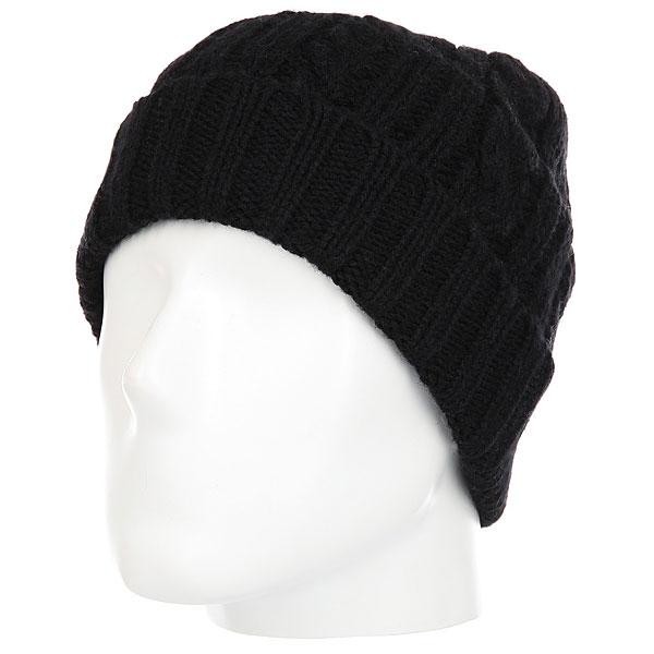 Шапка Quiksilver Flynt Beanie Hats Black<br><br>Цвет: черный<br>Тип: Шапка<br>Возраст: Взрослый<br>Пол: Мужской