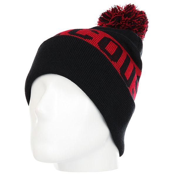 Шапка DC Chester Hats Black<br><br>Цвет: красный,черный<br>Тип: Шапка<br>Возраст: Взрослый<br>Пол: Мужской