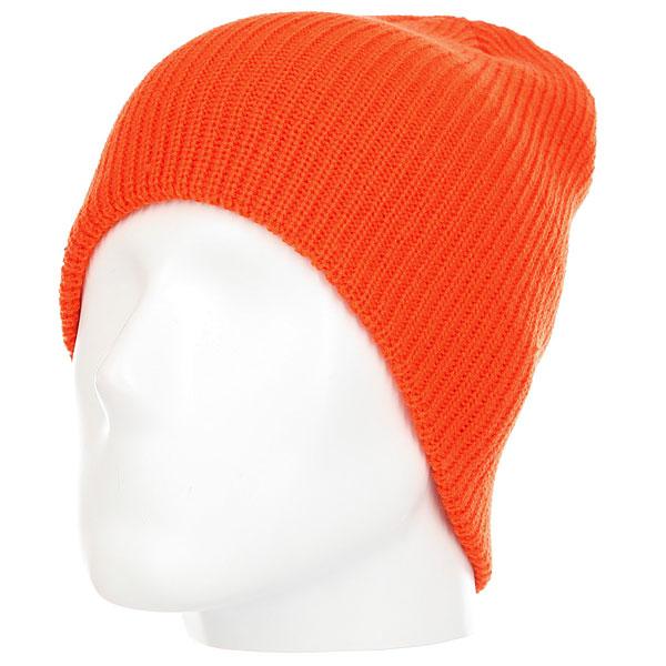 Шапка DC Silas Beanie Hats Mandarin Red<br><br>Цвет: оранжевый<br>Тип: Шапка<br>Возраст: Взрослый<br>Пол: Мужской
