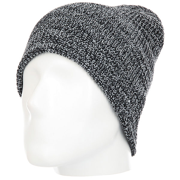 Шапка DC Silas Beanie Hats Black Heather<br><br>Цвет: серый,черный<br>Тип: Шапка<br>Возраст: Взрослый<br>Пол: Мужской