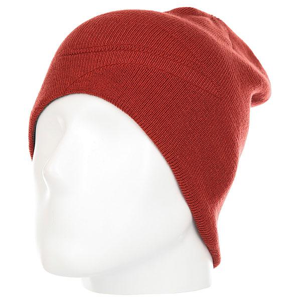 Шапка Quiksilver Slou Beanie Hats Ketchup Red<br><br>Цвет: коричневый,серый<br>Тип: Шапка<br>Возраст: Взрослый<br>Пол: Мужской