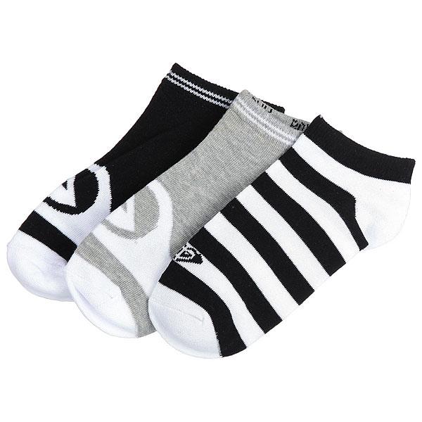 Купить со скидкой Комплект носков женский Roxy Ankle Socks Anthracite