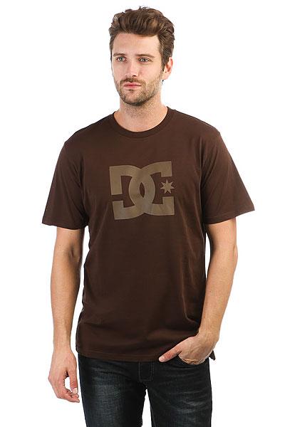 Футболка DC Star Coffee Bean<br><br>Цвет: коричневый<br>Тип: Футболка<br>Возраст: Взрослый<br>Пол: Мужской