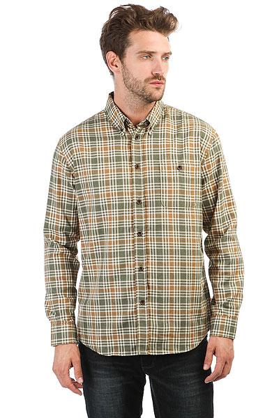 Рубашка в клетку Quiksilver Cortezstraight Beetle Cortez Straig<br><br>Цвет: зеленый,белый,коричневый<br>Тип: Рубашка в клетку<br>Возраст: Взрослый<br>Пол: Мужской