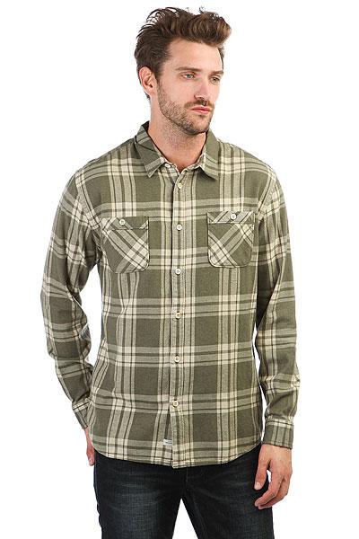 Рубашка в клетку Quiksilver Moon Tides Beetle<br><br>Цвет: зеленый<br>Тип: Рубашка в клетку<br>Возраст: Взрослый<br>Пол: Мужской