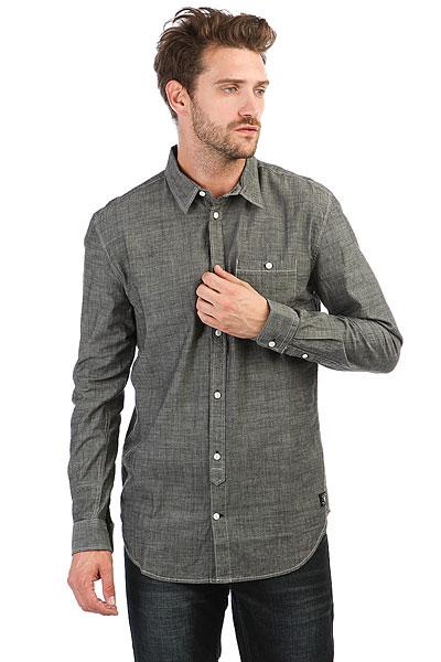 Рубашка в клетку DC Arrowood 2 Black Chambray рубашка в клетку dc runnels runnels winetasting