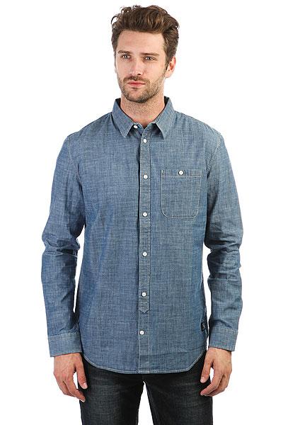 Рубашка в клетку DC Arrowood 2 Indigo Chambray<br><br>Цвет: синий<br>Тип: Рубашка в клетку<br>Возраст: Взрослый<br>Пол: Мужской