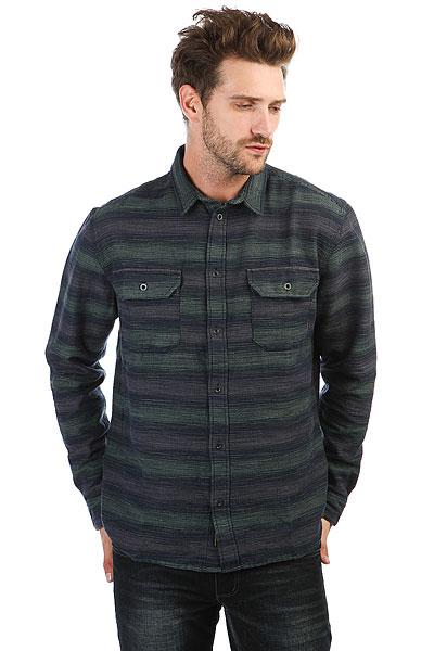 Рубашка Quiksilver Dusky Town Slate Gray<br><br>Цвет: синий,зеленый<br>Тип: Рубашка<br>Возраст: Взрослый<br>Пол: Мужской