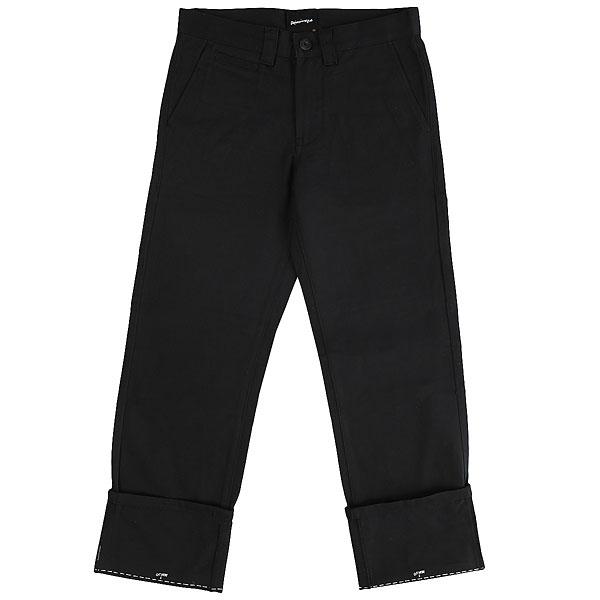 Штаны прямые Quiksilver Ghettosurfpant Black<br><br>Цвет: черный<br>Тип: Штаны прямые<br>Возраст: Взрослый<br>Пол: Мужской