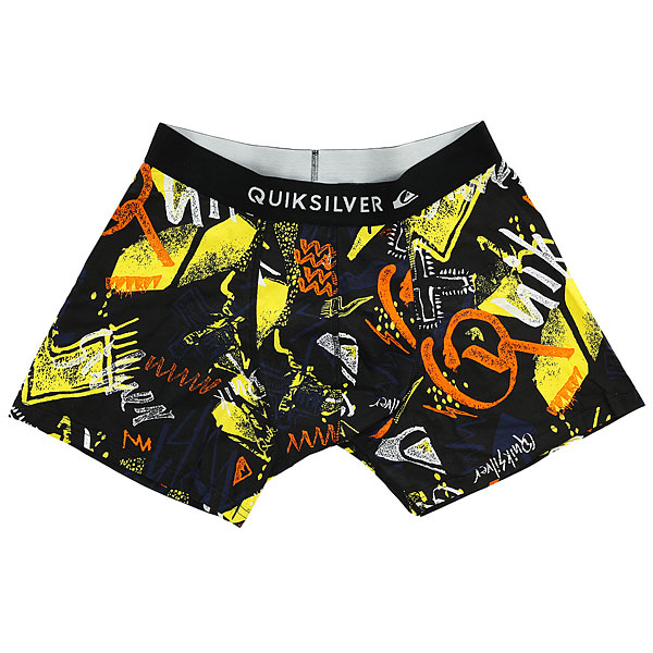 Трусы Quiksilver Boxer Poster Black Thunderbolts<br><br>Цвет: черный,мультиколор<br>Тип: Трусы<br>Возраст: Взрослый<br>Пол: Мужской