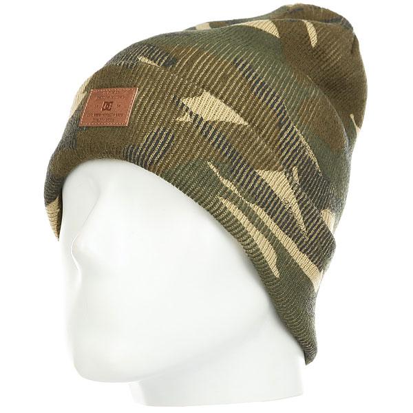Шапка носок DC Label Woodland Camo шапка детская dc label youth hats dark shadow heather