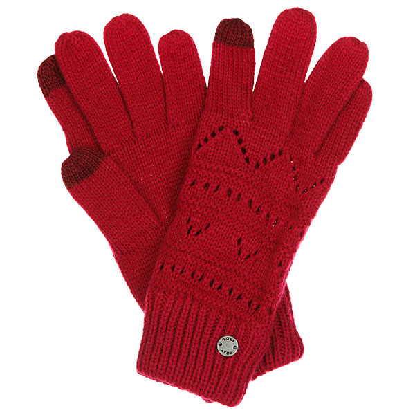 Перчатки женские Roxy Girl Glove Persian RedВязанные женские перчатки Roxy Girl Glove.Характеристики:Изготовлены из акрила. Эластичные манжеты.Металлический логотип.<br><br>Цвет: бордовый<br>Тип: Перчатки<br>Возраст: Взрослый<br>Пол: Женский
