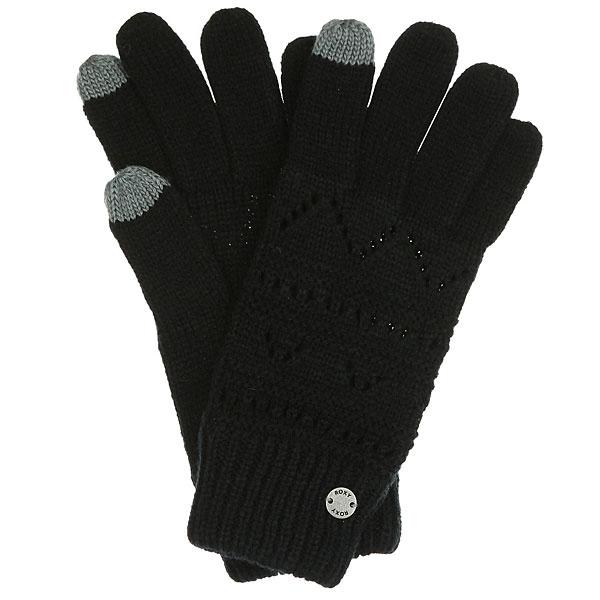 Перчатки женские Roxy Girl Glove AnthraciteВязанные женские перчатки Roxy Girl Glove.Характеристики:Изготовлены из акрила. Эластичные манжеты.Металлический логотип.<br><br>Цвет: черный<br>Тип: Перчатки<br>Возраст: Взрослый<br>Пол: Женский