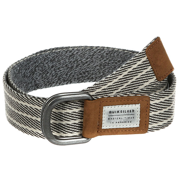 Ремень Quiksilver Bellring Light Grey Heather
